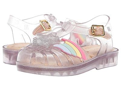 Mini Melissa Mini Possession II (Toddler) (Clear) Girls Shoes