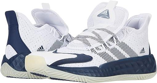 Footwear White/Team Navy Blue/Chalk White
