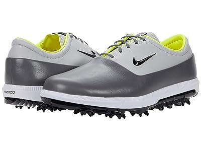 Nike Golf Air Zoom Victory Tour (Smoke Grey/Black/Grey Fog Lemon Venom) Men