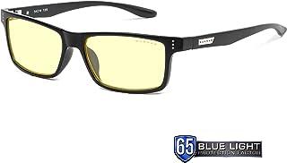 comprar comparacion Gunnar Gaming and Computer Eyewear for Kids| Model: Cruz, Amber tint | Blue Light Blocking Glasses | 35% Blue Light Protec...