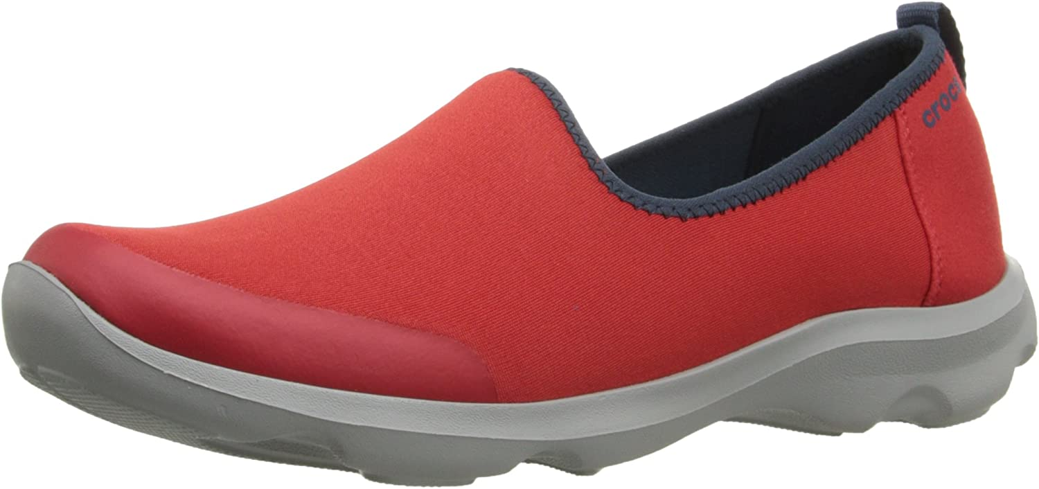 Crocs Women's Busy Day Stretch Skimmer Fashion Sneaker