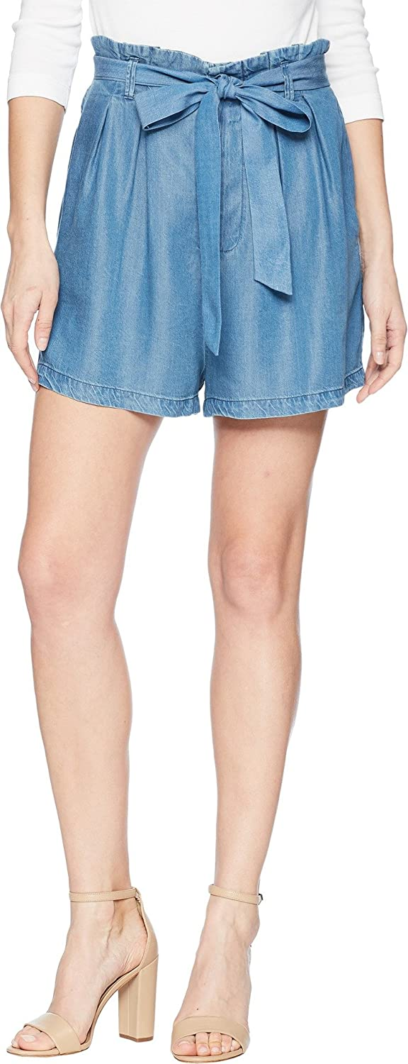 Bishop & Young Womens Tencel Paperbag Shorts
