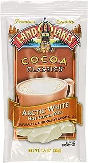 Land O Lakes Cocoa Classic Arctic White Hot Cocoa Mix, 1.25 Ounce (24)