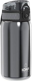 Ion8 Botella Agua Acero Inoxidable Niños Sin Fugas, 400ml