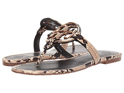 Tory Burch Metal Miller (Desert Roccia/Gold) Women