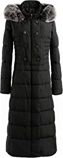 Women's Max Long Winter Puffer Coat Vegan Down Jacket Arctic Coat Thickened Hooded Coat