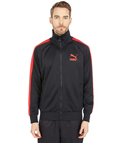 PUMA Iconic T7 Track Jacket (PUMA Black 2) Men