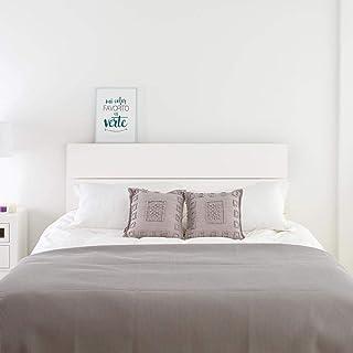 Amazon.fr : tete lit bois 160 - Blanc
