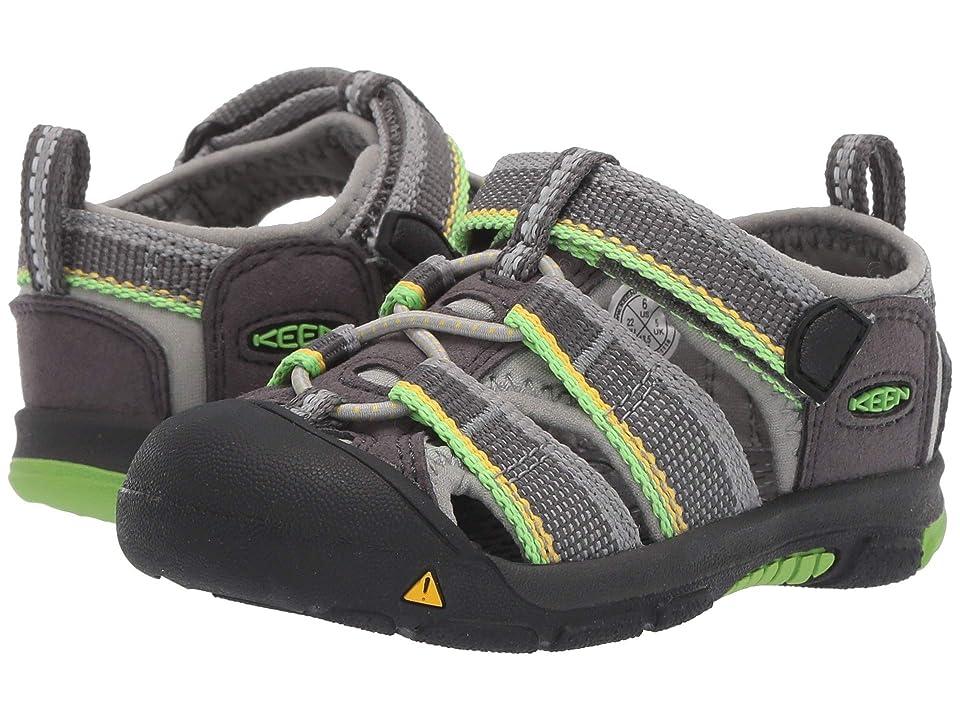 Keen Kids Newport H2 (Toddler) (Racer Gray) Kids Shoes