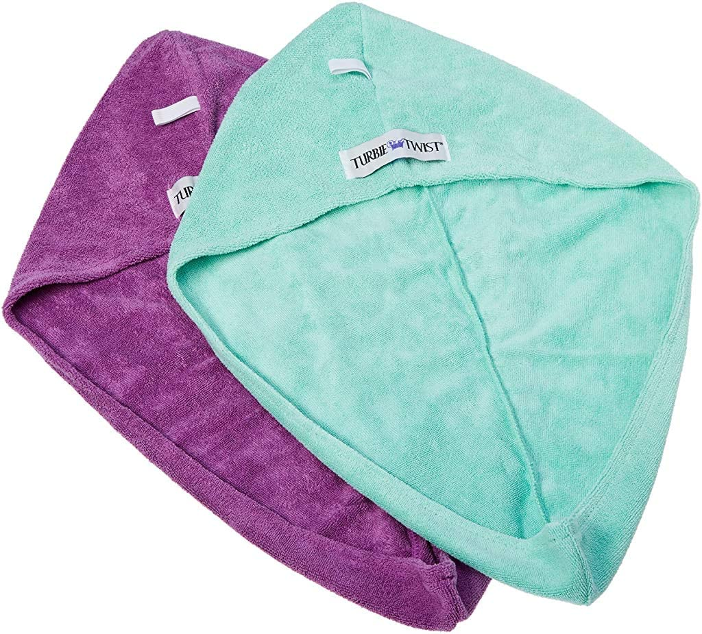Max 88% OFF Turbie Twist Super Absorbent High quality Microfiber Hair Wrap Hands Towel -