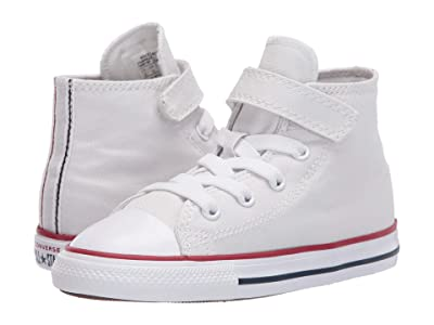 Converse Kids Chuck Taylor(r) All Star(r) 1V Twisted Varsity (Infant/Toddler) (Photon Dust/Garnet/White) Kid