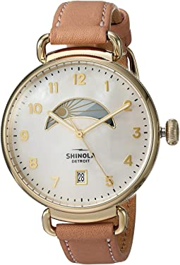 Shinola Detroit - The Canfield Day & Night 38mm - 20089879