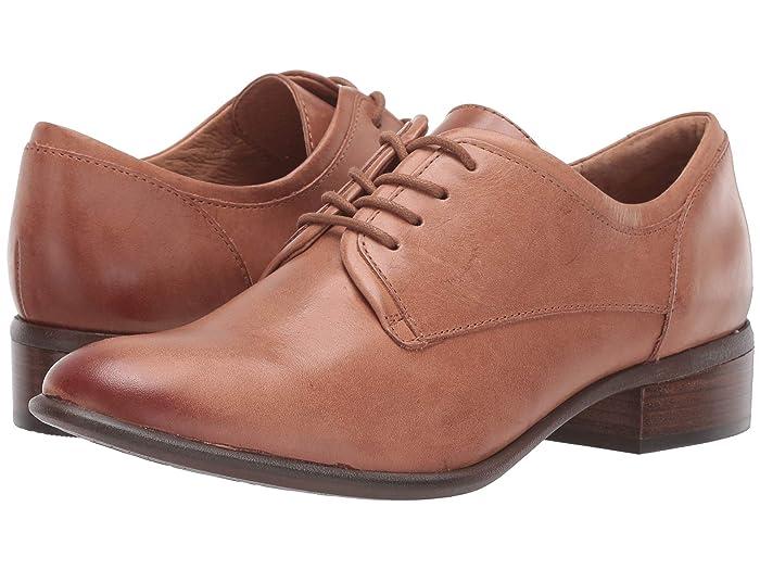 1920s Style Shoes Sofft Sweden Cognac Tequila Womens Shoes $84.99 AT vintagedancer.com