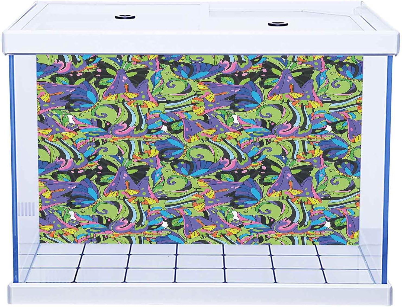 Aquarium San Antonio Mall Online limited product Sticker Wallpaper Decoration Mix Groovy Mushroom Trippy