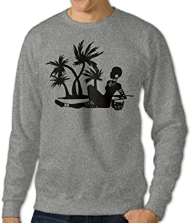 Fashion African Beach Hooded Sweatshirt For Man's