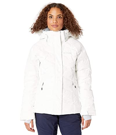 Columbia Lay D Down II Jacket (White Crackle Print) Women