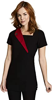 9a45227913bf Simon Jersey Feature Lapel Beauty Tunic