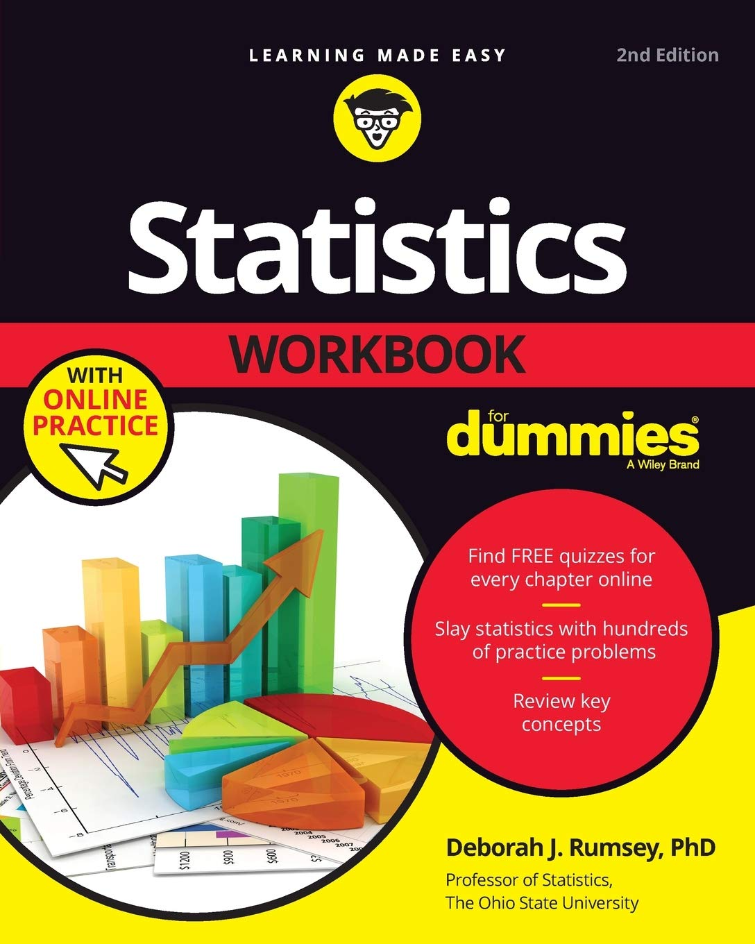 Image OfStatistics Workbook For Dummies With Online Practice, 2nd Edition