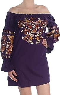 Fleur Du Jour Shift Purple Dress
