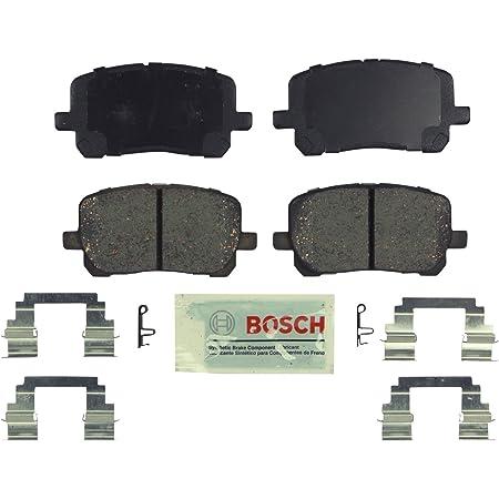 i8 Z4; Rear 530i 535d xDrive 528i xDrive Bosch BP1473 QuietCast Premium Semi-Metallic Disc Brake Pad Set For Select BMW 528i 535i 535d X3 530i xDrive 535i xDrive X4 ActiveHybrid 5