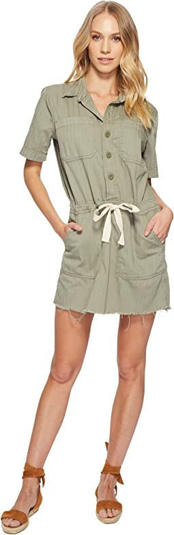 Lucky Brand - Drawstring Dress