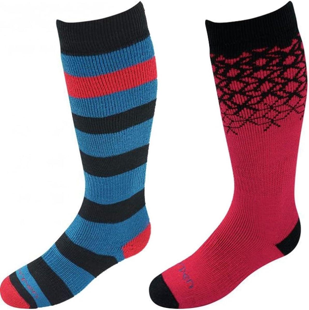 Lorpen Unisex Merino Kids Ski Socks (2-Pack)