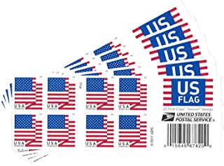 USPS US Flag 2018 Forever Stamps ((Book of 100))