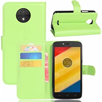 Ycloud Funda Libro para Motorola Moto C Plus Suave PU Leather ...