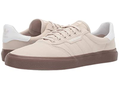 adidas Skateboarding 3MC (Clear Brown/Footwear White/Gum 5) Men