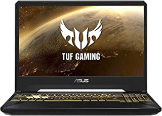 Asus TUF Gaming FX505DT-BQ045T Gaming Laptop (Black) - AMD R7-3750H 4.0 GHz, 16 GB RAM, 512 GB SSD, Nvidia GeForce GTX 1650,  15.6 inches IPS, Windows 10, Eng-Arb-KB