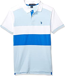 Men's Short Sleeve Slim Fit Solid Jersey Polo Shirt