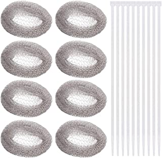 SOLUSTRE 30 Pieces Lint Traps Stainless Steel,Washing Machine Lint Snare Traps and Allow The Metal Mesh Trap to Filter The...