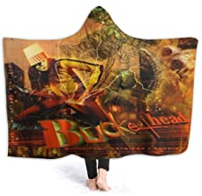 FrankIJohnson Buckethead Monsters and Robots Hooded Blanket,Fashion Design Blanket,Lightweight,Comfortable,All Seasons