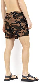 BRAVE SOUL Mens Swimming Shorts Camo Military Trunks Mesh Lined Beach Summer New