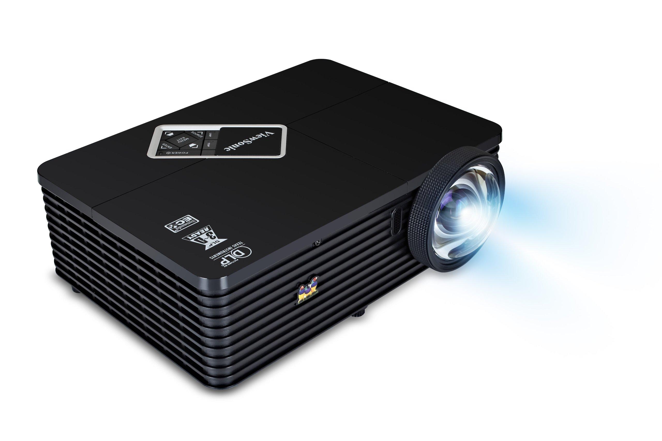 Viewsonic PJD5453s Video - Proyector (2400 lúmenes ANSI, DLP, XGA ...
