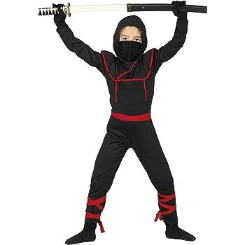 Guirca- Disfraz 10-12 años Ninja Samurai, u (81888.0): Amazon.es ...
