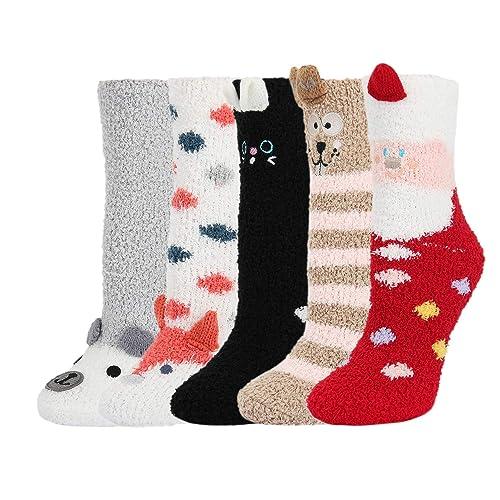 Weird Fuzzy Socks 7