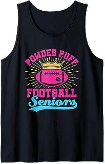 Powder Puff Football Seniors Tank Top
