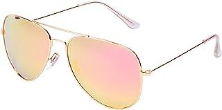 78cdf14cd0 Qixuan QIXU Polarizadas Gafas de Sol para Hombre y Mujer Efecto Espejo Lente  Antirreflejante UV400 con