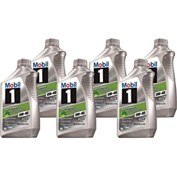 Mobil1 123875 ESP Formula Engine Oil 0W-40 (6 quarts)