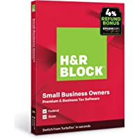 H&R BLOCK Tax Software Premium & Business 2019 Deals