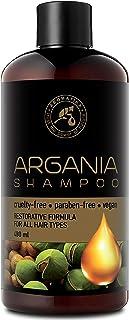 Aceite de Argan 480ml - Shampoo con Aceite de Argán Natural y Extractos de Hierbas - para Todo Tipo de Cabello - Fórmula R...