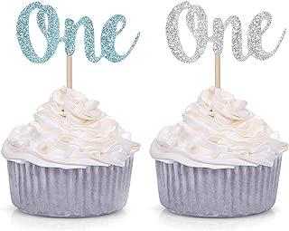 First Birthday Cupcakes Boy