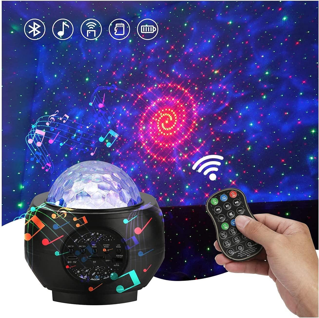 Galaxy Star Projector on Ceiling 3 safety 1 Be Starry for Max 44% OFF in