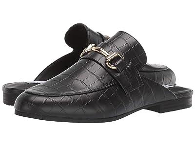 Steve Madden Kandi Slip-On Mule (Black Croco) Women