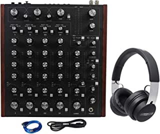 Rane MP2015 Rotary Club DJ 4-Deck Mixer w/Dual USB+Audio Technica DJ Headphones