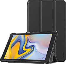 Procase Verizon Sprint Galaxy Tab A 8.0 Case 2018 SM-T387, Slim Light Protective Cover Stand Hard Shell for Galaxy Tab A 8.0-Inch 4G LTE Tablet Sprint/Verizon/T-Mobile/AT&T 2018 Release -Black