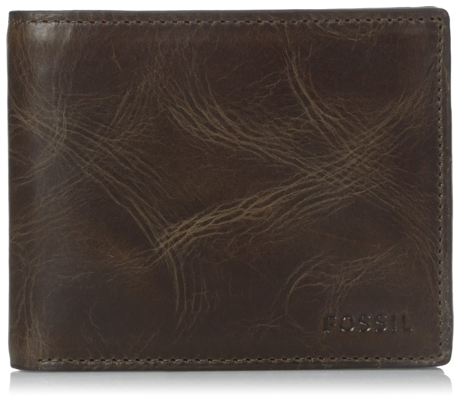 Fossil Mens Bifold Wallet Brown