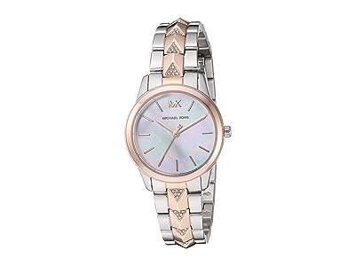 Michael Kors MK6717 Runway Mercer (Rose Gold/Silver) Watches