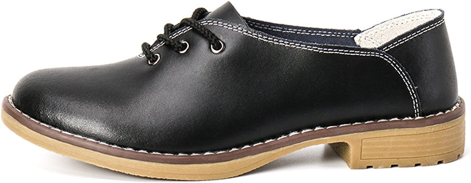 Robert Reyna Fashion Women Flats Leather Oxfords Woman Ballets Flats Casual Moccasins for Women
